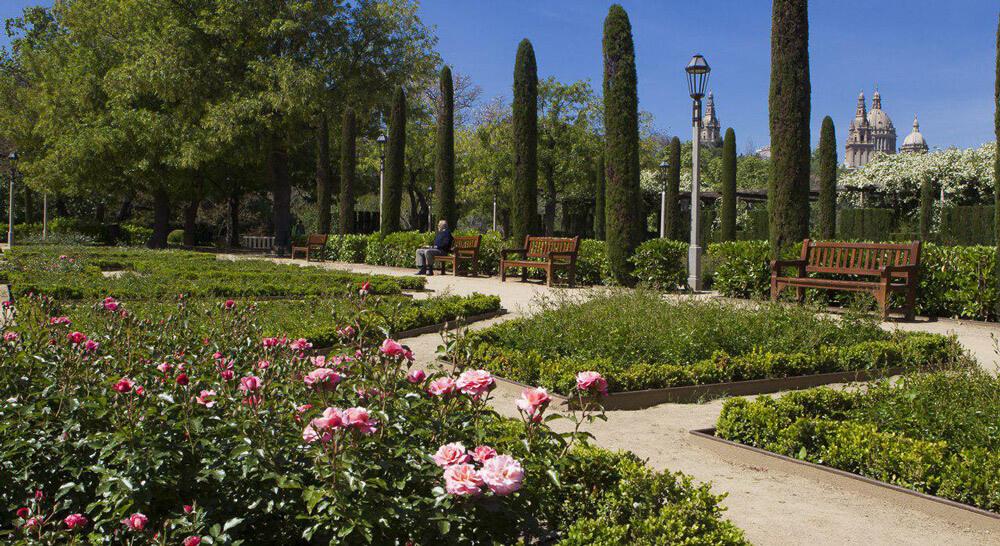 Romantic sites in Barcelona, Jardins del Grec