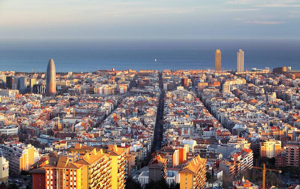 Romantic sites in Barcelona, Lookouts
